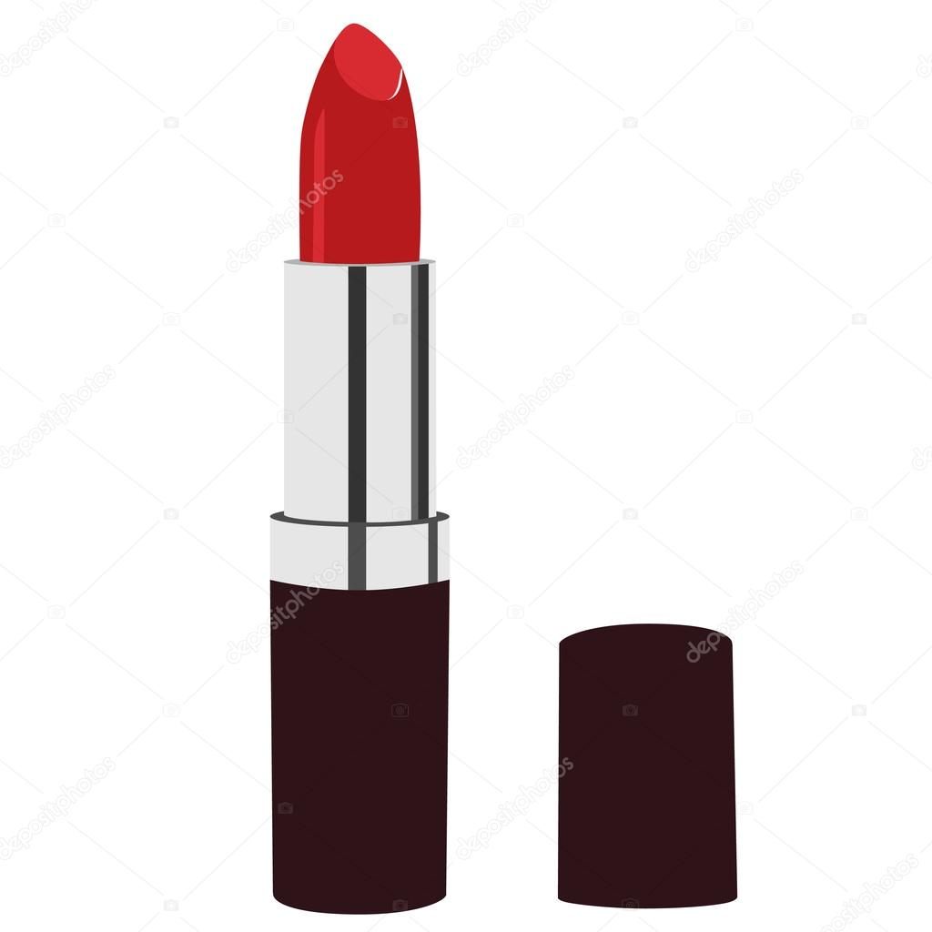 red lipstick � stock vector 169 viktorijareut 74564269