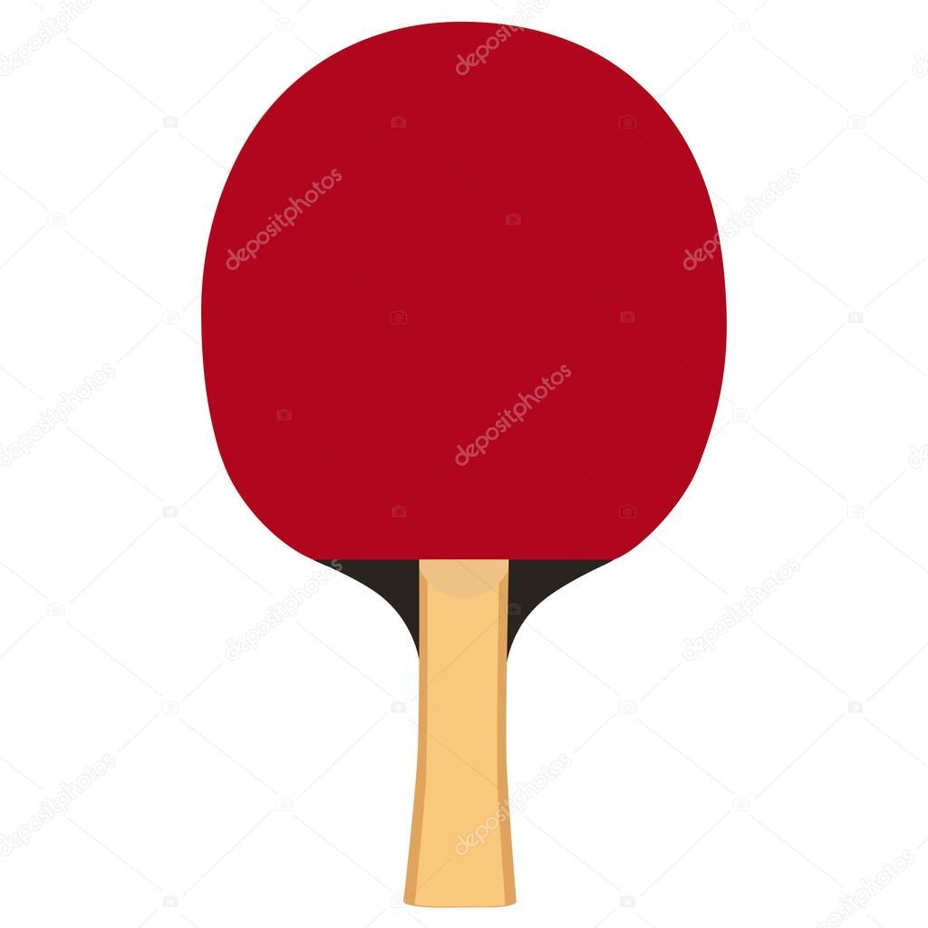 paleta de ping pong — Vector de stock © viktorijareut #74760107