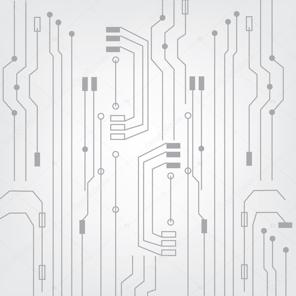 Circuito And : Circuit board u2014 stock vector © viktorijareut #86713630
