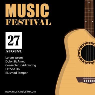 Concert poster raster