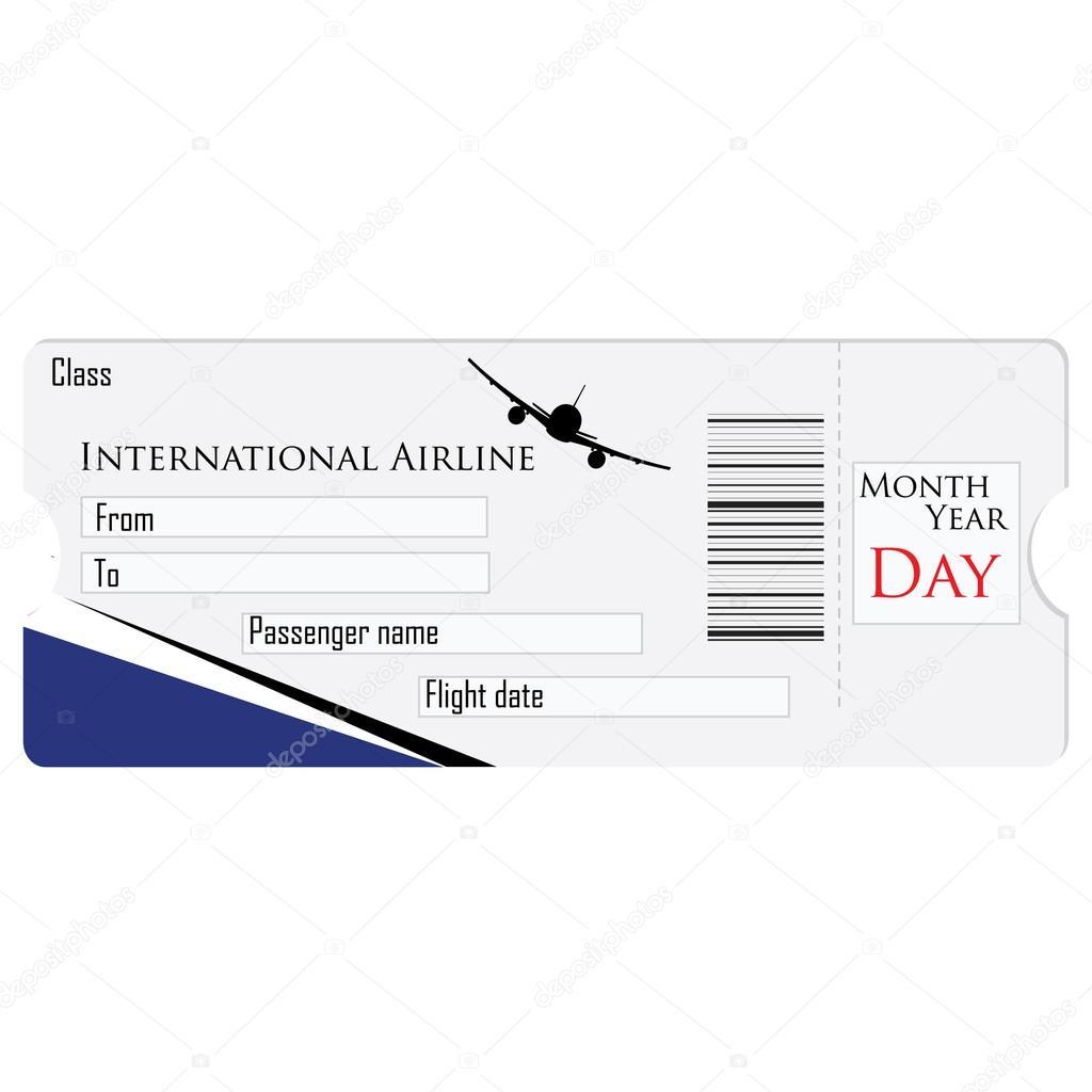 Flugzeug-Ticket-raster — Stockfoto © viktorijareut #88942078
