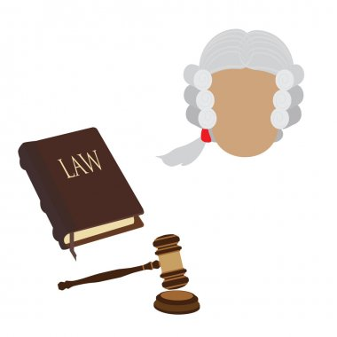 Law icons raster