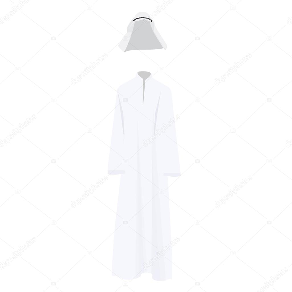 Arabic traditional dress