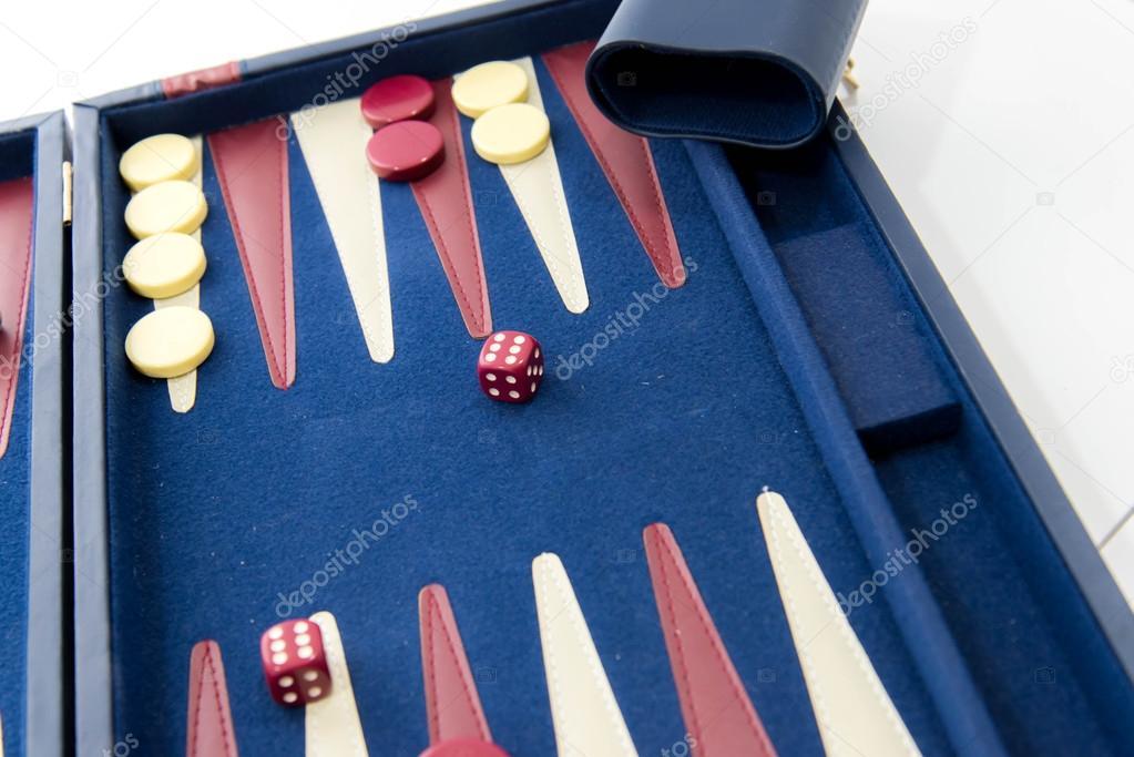 Juegos De Mesa Backgammon En Juego Foto De Stock C Martince2