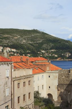 A view of the famous city of Dubrovnik in Croatia