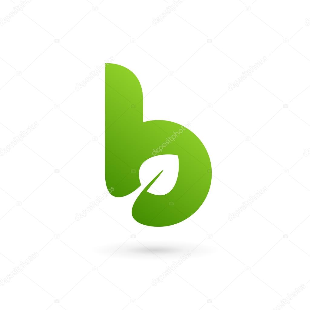 Letter b eco leaves logo icon design template elements stock letter b eco leaves logo icon design template elements stock vector 104467822 pronofoot35fo Image collections