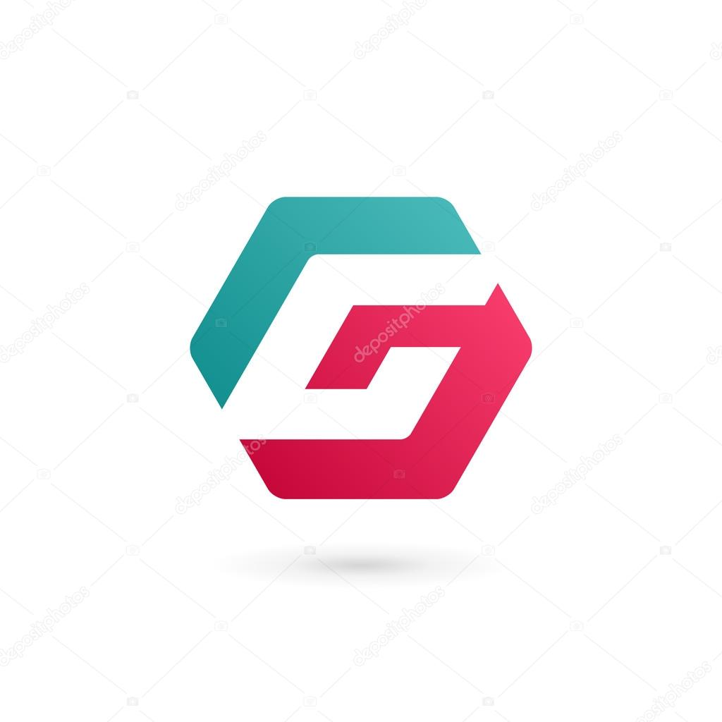 letter g logo icon design template elements stock vector arbuzu