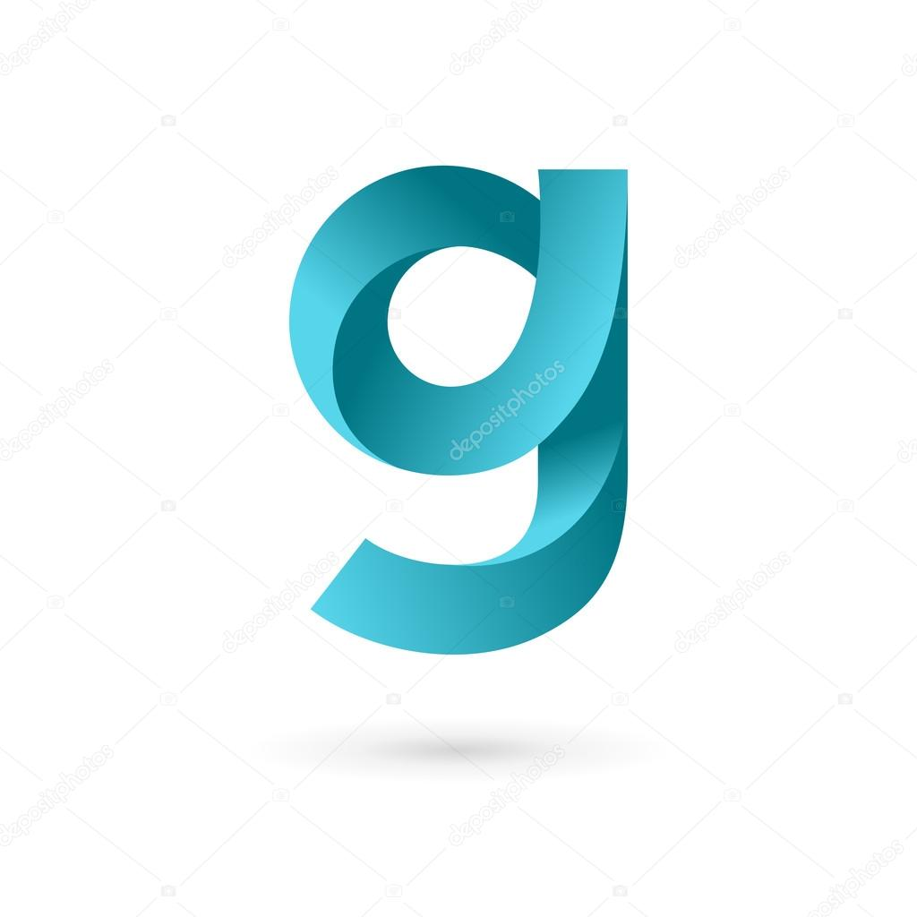 letter g logo icon design template elements stock vector