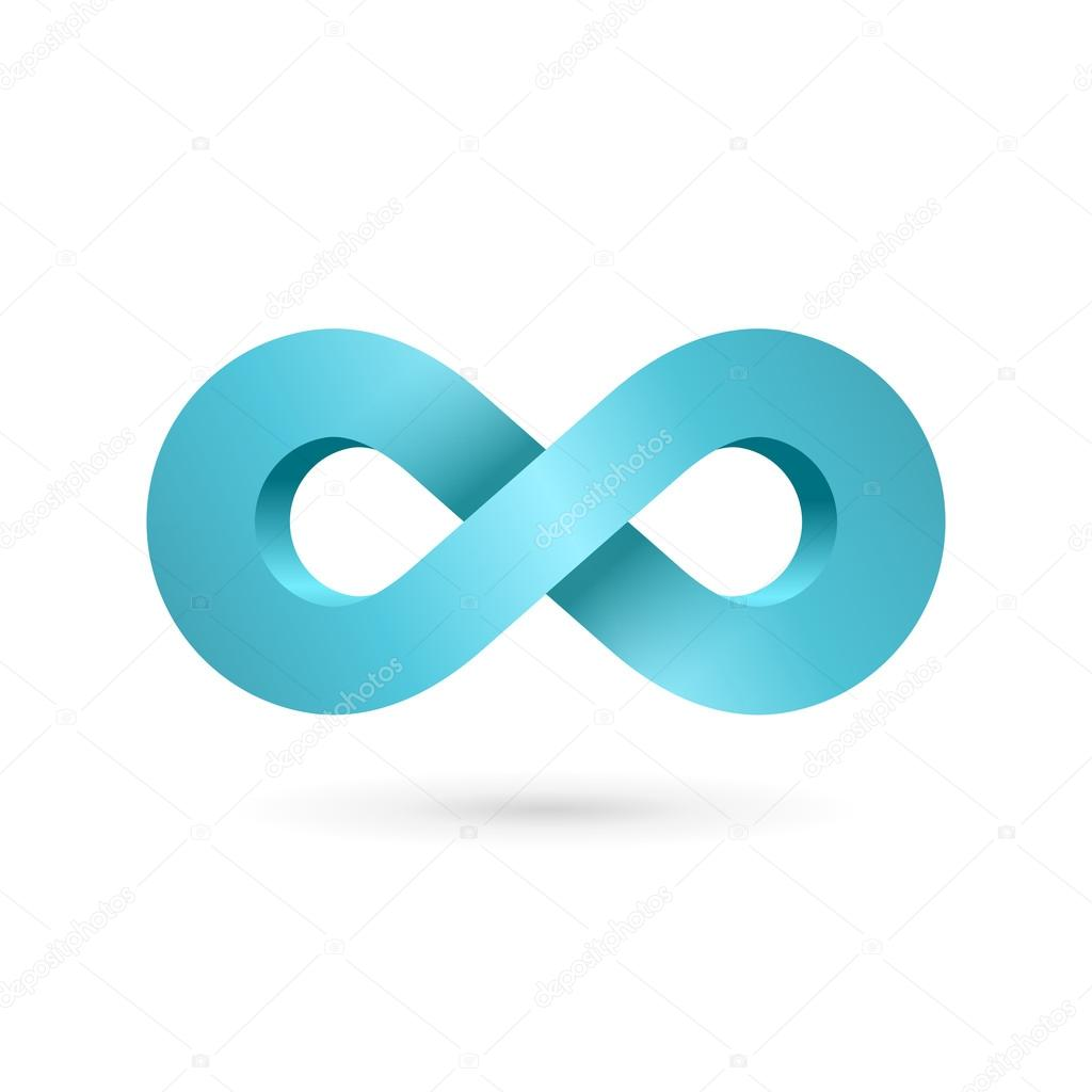 Infinity symbol stock vectors royalty free infinity symbol infinity loop symbol logo icon design template vector graphics biocorpaavc Choice Image