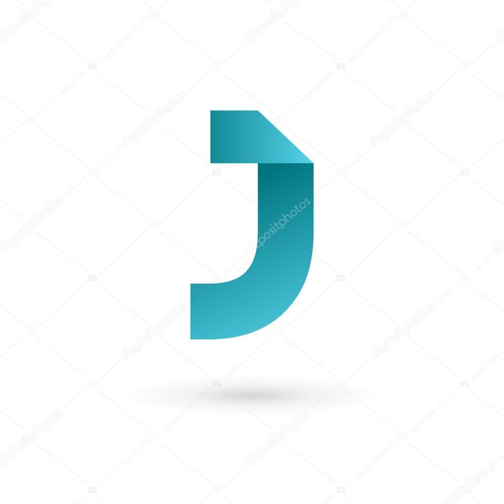 Letter J Logo Icon Design Template Elements Stock Vector C Arbuzu