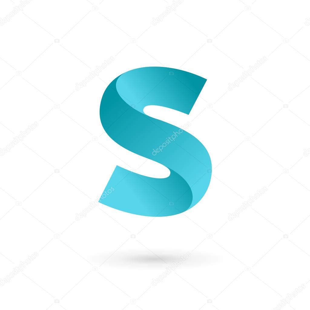 s harfi logo simge tasarım şablonu 246ğeleri � stok vekt246r