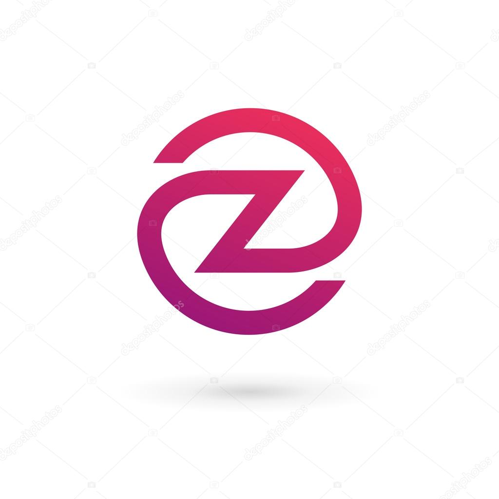 Letter Z Logo Icon Design Template Elements Stock Vector C Arbuzu