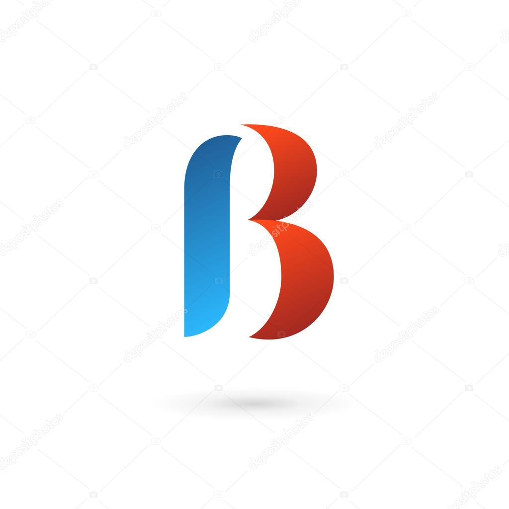 Letter b logo icon design template elements stock vector for Logo b b