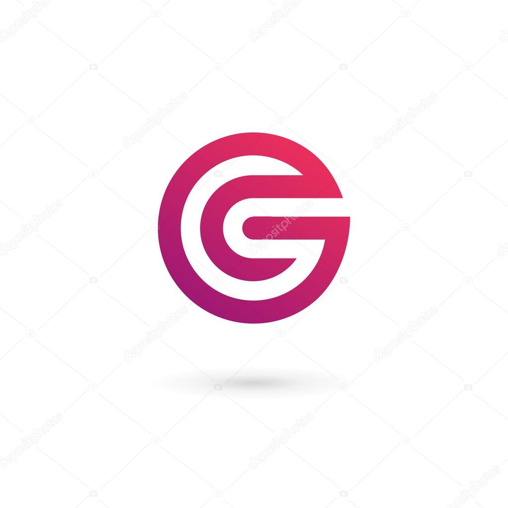 Letter G logo icon design template elements — Stock Vector ...