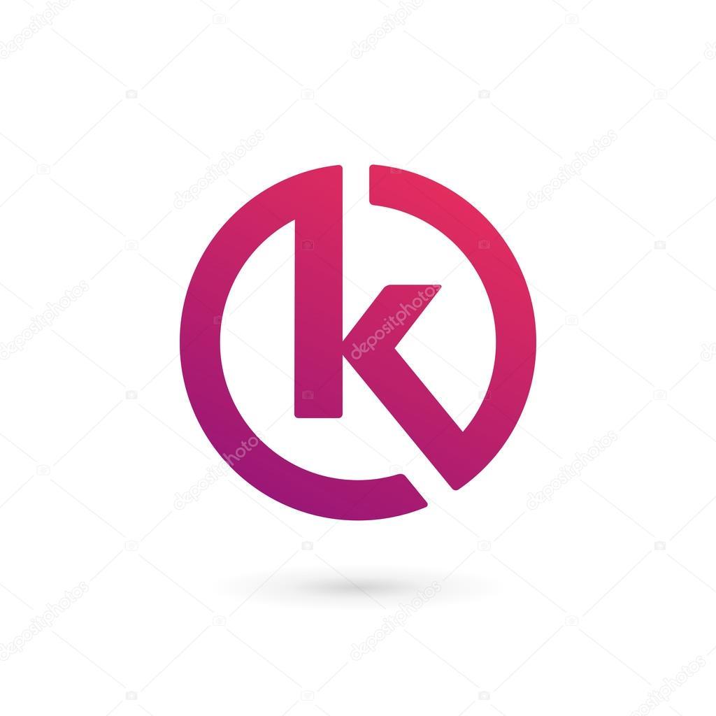 Letter k logo icon design template elements stock vector letter k logo icon design template elements stock vector 68427515 spiritdancerdesigns Images