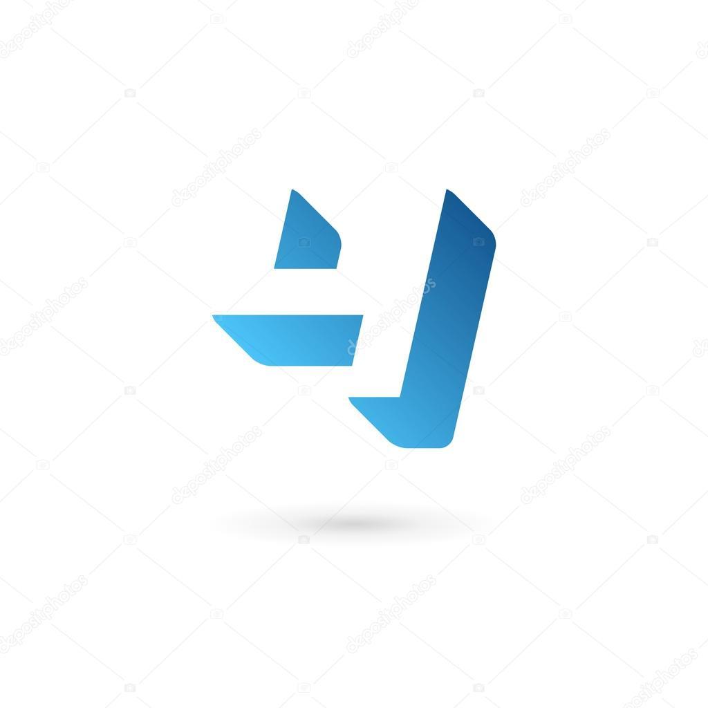 Elementos de la plantilla diseño de icono de la insignia número 4 ...