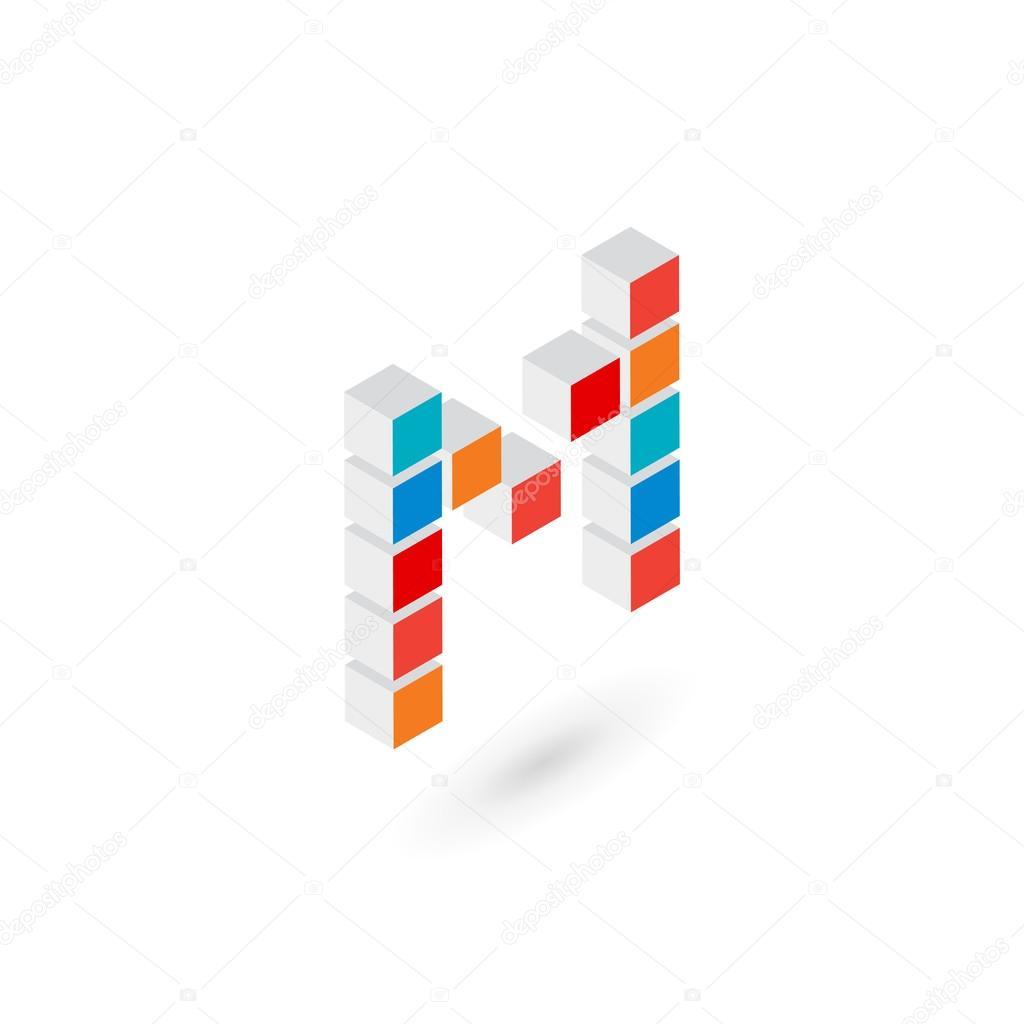 3d Cubo Letra L Logo Icono Plantilla Elementos De Diseno De