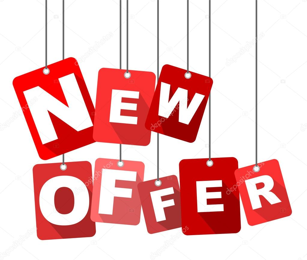 new offer, red vector new offer, flat vector new offer offerup tampa offer #11