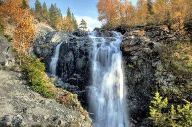 Waterfall in Khibiny