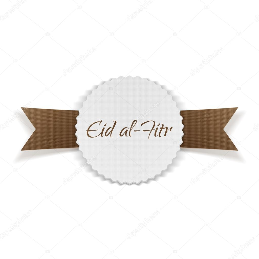 Eid al fitr greeting paper banner stock vector slavaleks eid al fitr greeting paper banner stock vector kristyandbryce Images