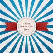 Státní znak přátelství Happy den s mašlí
