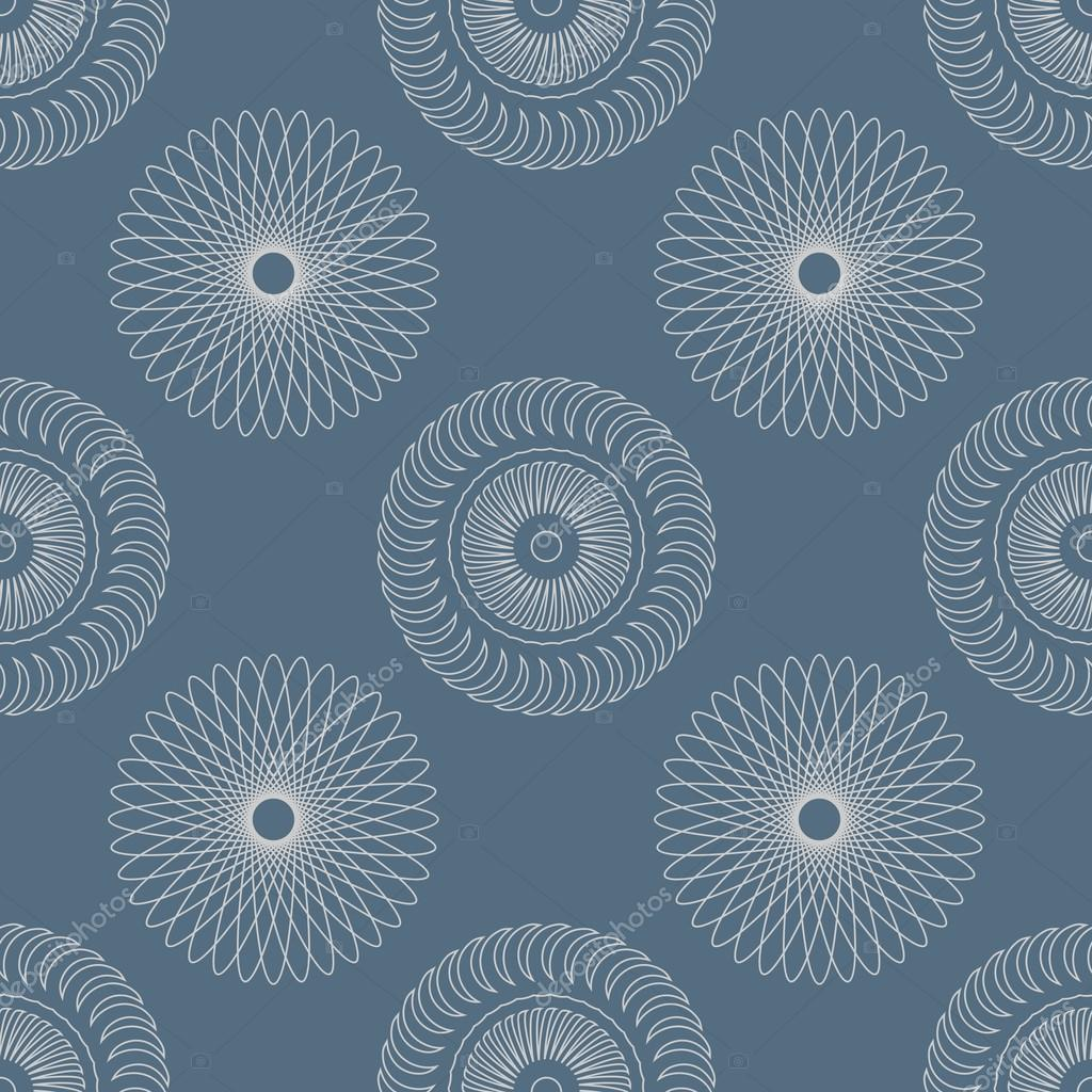 Vector seamless Pattern with circular Elements