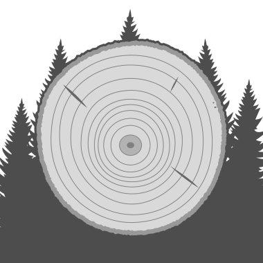 Wood Service Emblem