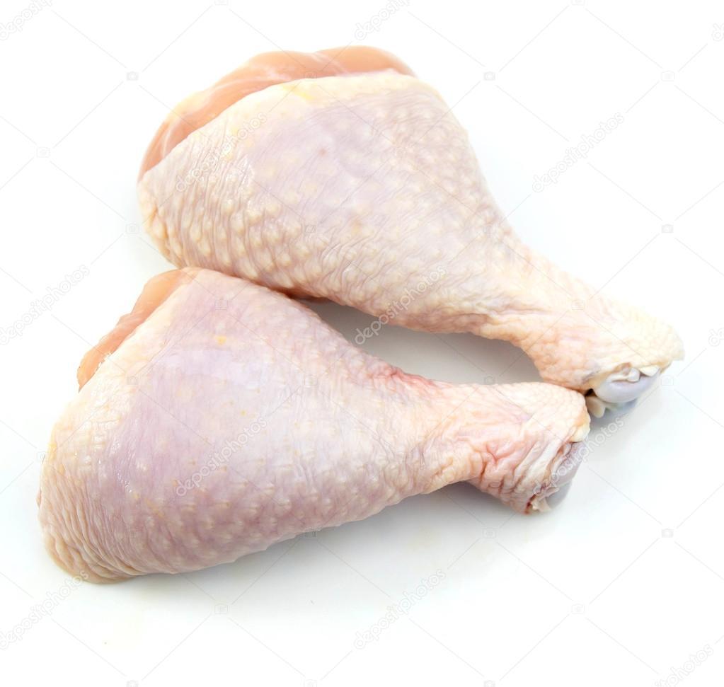 raw chicken legs — Stock Photo © theerapolsriin #65866303