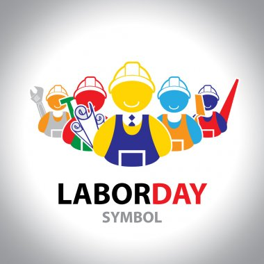 Labor symbol icon. Vector design. Labor day concept