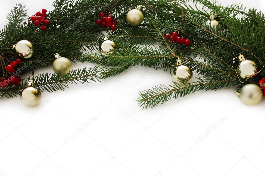 Elemento de marco de Navidad para diseño de tarjetas de felicitación ...
