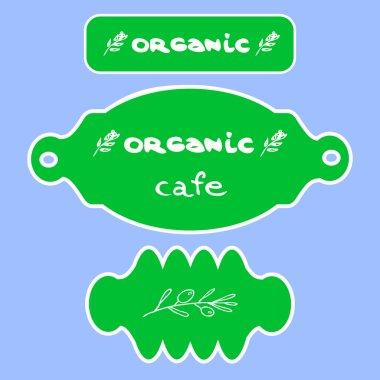 Organic logo menu