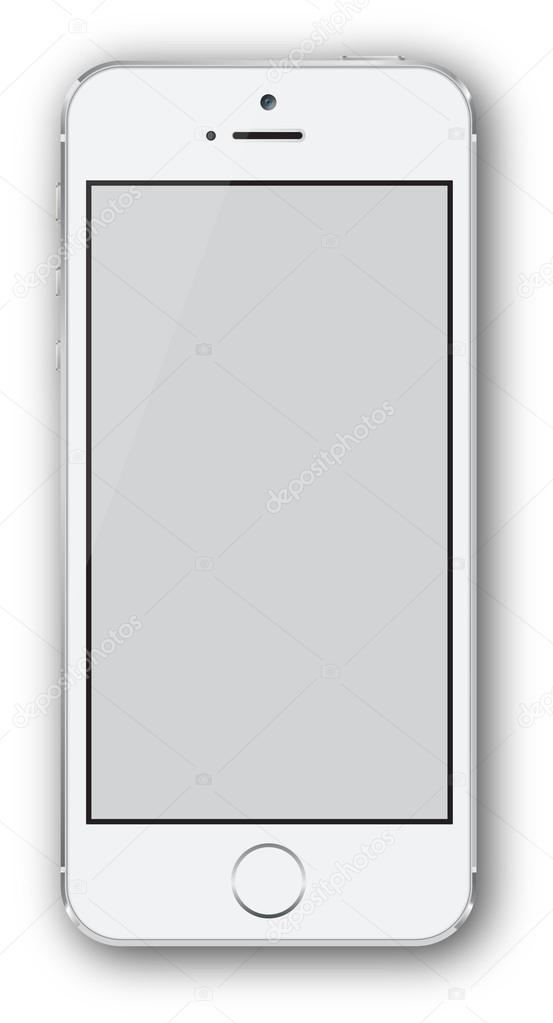 Iphone style white