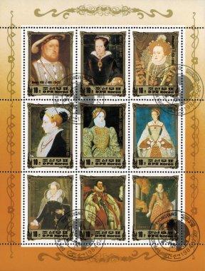 Mail stamp printed