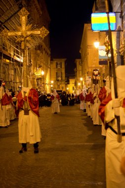 The old Good Friday procession