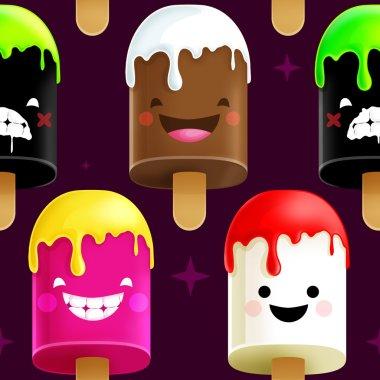 Freaky Yummy Ice-Cream Pattern