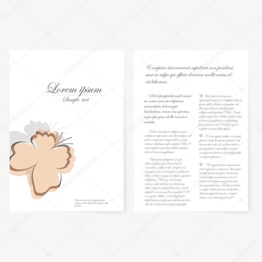 Ausgezeichnet Taschenordner Vorlage Illustrator Zeitgenössisch ...