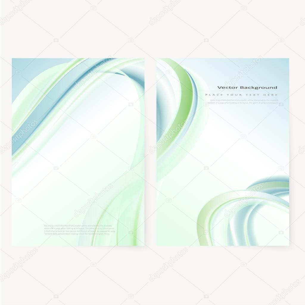 Vector business brochure, flyer template — Stock Vector © klyaksun ...