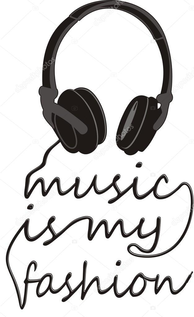 Typography music electronic