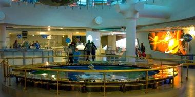 Foucault pendulum in Moscow Planetarium