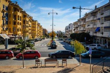 Boulevard San Pedro with views to the beach