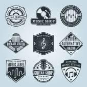 Fényképek Vektor zene Logo, ikonok és látványelemek