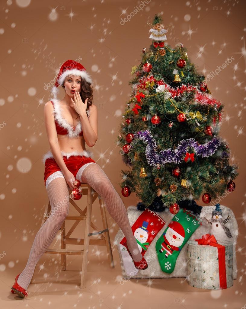 Nackte WeihnachtsgrГјГџe