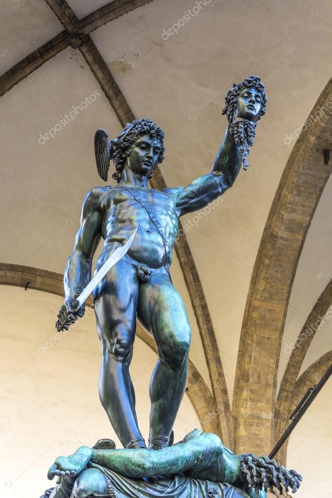 Perseus With The Head Of Medusa Stock Photo C Rarrarorro