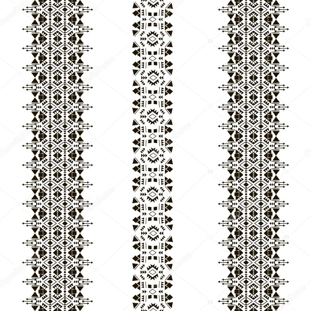 tribal seamless pattern vertical