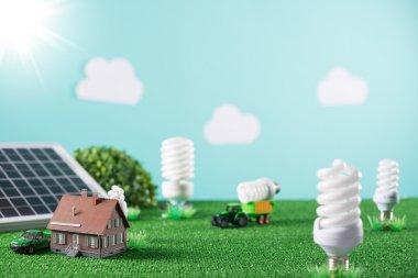 Environmental friendly toy town