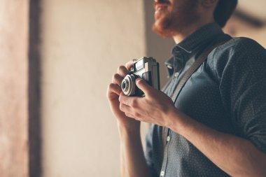 Vintage photojournalist