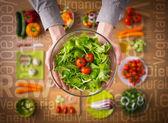 Zdravé stravovací koncept