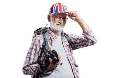 Senior photographer portrait