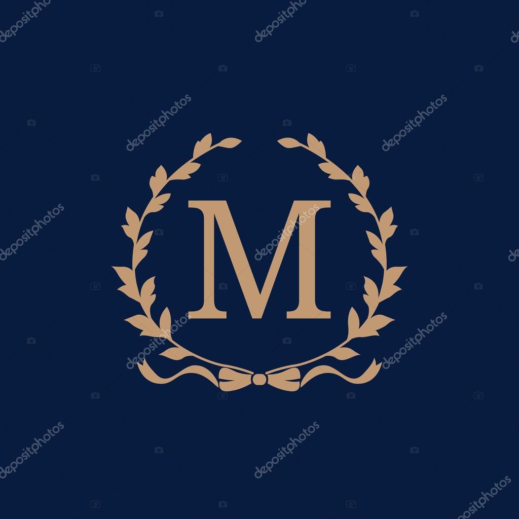 Jahrgang Monogramm-Vorlage — Stockvektor © maria_kolyadina #97669044