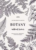 Botanická karta pro listy
